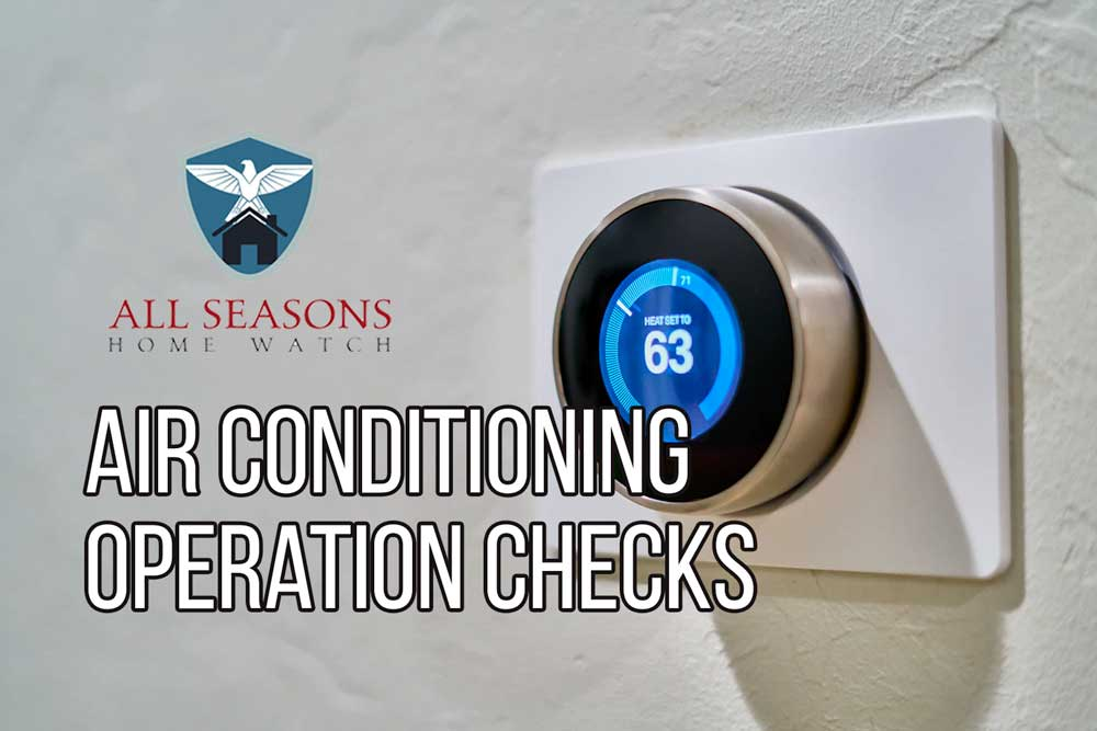 Air Conditioning Operation Checks
