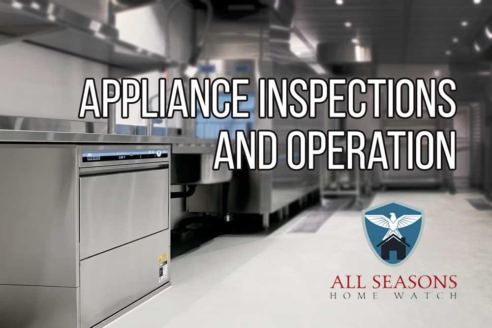 Appliance Checks